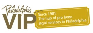 Philadelphia VIP - Since 1981. The hub of pro bono legal services in Philadelphia (logo)