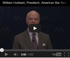 William Hubbard, President, American Bar Association