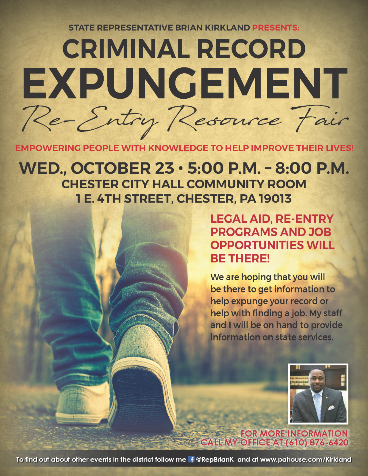 Expungement Clinic and Fair flyer